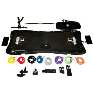 Total Body Board bundled with accessories