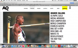 HIGHER CALLING:  OLYMPIC GOLD MEDAL-WINNING HIGH JUMPER AND WORLD CHAMPION CHARLES AUSTIN HAS SET A VERY HIGH BAR-HE WANTS TO REVOLUTIONIZE THE WAY YOU TRAIN.
