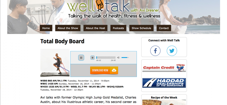 Well Talk with Avi Dresner:  Total Body Board