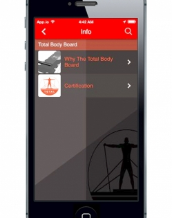 Total Body Board App – Download for Free