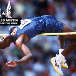 Olympian Austin wins USA Track and Field Athlete of the Week after setting World Record